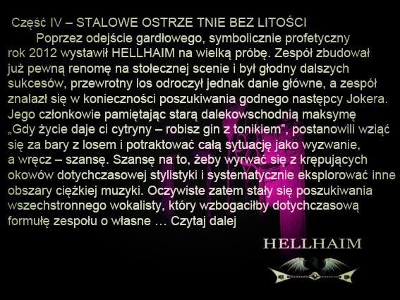 Hellhaim czasy współczesne