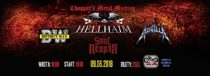Koncert – Chopper's Metal Meeting – Hellhaim / Distinct Way / Aquilla