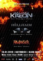 Kreon / Hellhaim / Ravenger –  Katowice (klub Faust)