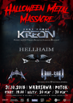 Halloween Metal Massacre / Warszawa / Potok