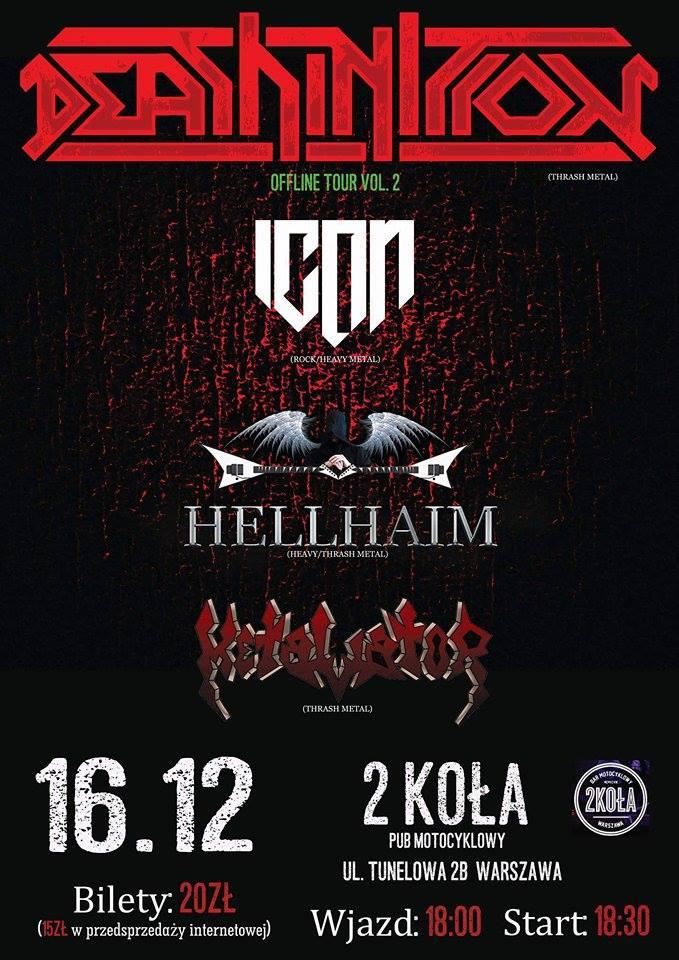 Koncerty metalowe warszawa