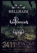 Koncert w Metal Cave 24 listopada