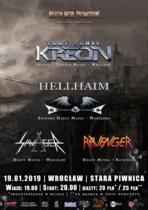 Kreon / Hellhaim / Savager / Ravenger – Wrocław