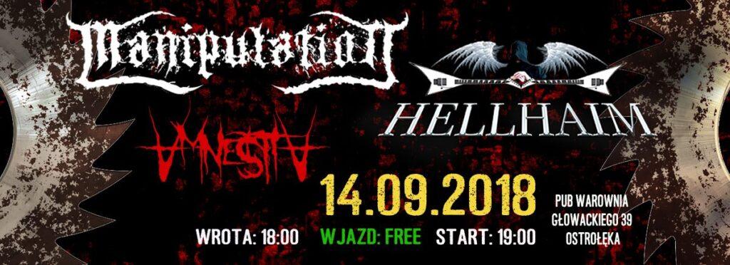 Koncert metalowy Polska Ostrolęka