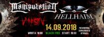 Manipulation & Hellhaim + Amnestia / 14.09 – Warownia, Ostrołęka