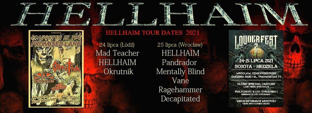 Koncerty Metalowe 2021 lipiec